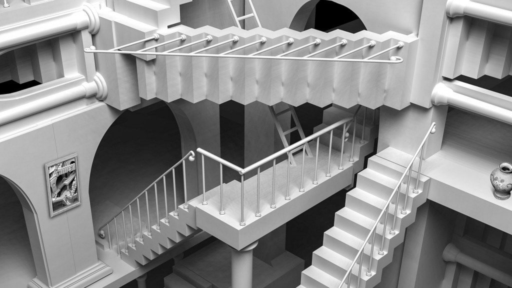 which-way-is-up-eschers-endless-stairs