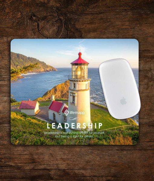 leadership motivational mousepad